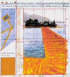 Christo and Jeanne-Claude, Wolfgang Volz, Mi Chenxing · The Floating Piers · Divisare