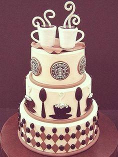 Starbucks cake!