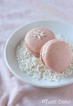 Strawberries & Cream Macarons | Tutti Dolci