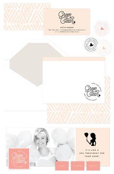 Brand Launch: Green Clean Co. | stationery design, brand, branding, design, brand styling | by www.saltedink.com