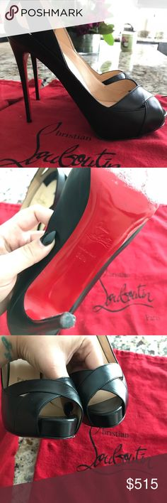 Christian LouBoutin size 8 Heels Worn 2x. This shoes are priced to sell! Ask any questions. Make me an offer. Christian Louboutin Shoes Heels