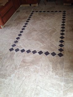 My new tile floors