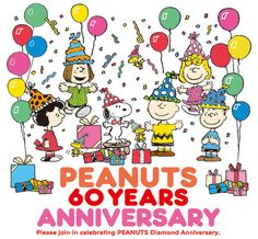 Peanuts 60 Years Anniversary Celebration