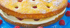 Zitronen-Himbeer-Torte
