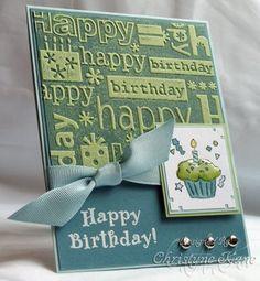 Stampin' with Sugar: Birthday Cupcake
