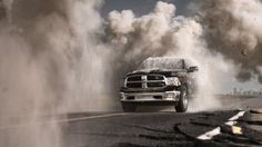 Dodge Ram – Moving Heaven and Earth Dodge Cummins, Jeep Dodge, Ram Trucks, Cool Trucks, 2013 Dodge Ram, Cargo Van, Chrysler Jeep, Car And Driver, Heaven On Earth