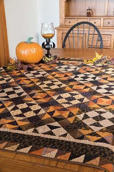 Bats in the Attic Quilt Pattern