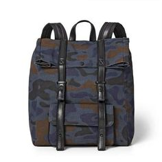 3.1 Phillip Lim for Target Camo Print Backpack - 3.1 Phillip Lim for Target Blue/Brown #sponsored #ad #paid   Thank you Target for sponsoring today's post. Men's Backpack, Trending Handbags, Camouflage Backpack, Leather Work Bag, Blue Camo, Brown Canvas, Camo Print, 3.1 Phillip Lim