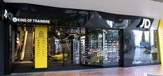 JD store by Briggs Hillier, Birmingham store design
