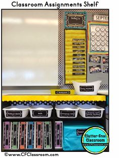 Organizing Copies, Assignments and Assessments {Classroom Design Photos, Set Up Pictures & Ideas, Organization & Management}