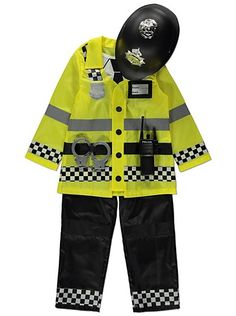 Police Officer Fancy Dress Costume, read reviews and buy online at George. Shop from our latest range in Kids. This bobby- dazzler is the perfect play-time e...