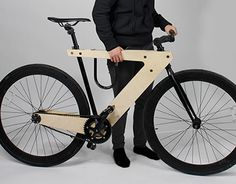 The Demadera is an ongoing project exploring the use of plywood as a bicycle frame material. Wooden Bicycle, Wood Bike, Balance Bike, Scooter Girl, Bike Art, Cool Bicycles, Bike Frame, Electric Bicycle, Bicycle Accessories