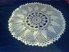 Pine Cone doily pattern