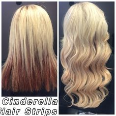 Cinderella Hair Strips