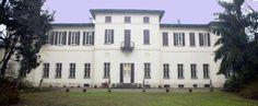 Villa Massari - Prospetto posteriore su giardino-nord  | Corbetta