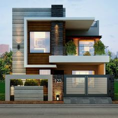 545 Best Front Elevation Images In 2019 House Elevation Modern