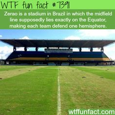 Zerao stadium - WTF fun facts