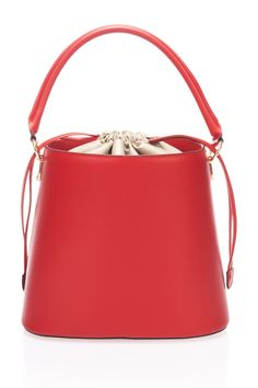 Red Bucket Bag by Lisa Minardi on @HauteLook