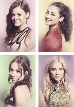Lucy Hale, Shay Mitchell, Troian Bellasario, & Ashley Benson