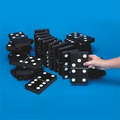 We've scaled up the Domino Fun for Occupational Therapy