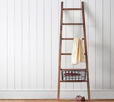 Lucy Leaning Ladder #potterybarn