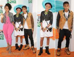 fashionable family