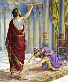 Daniel interprets Nebuchadnezzar's dream in Chapter 2