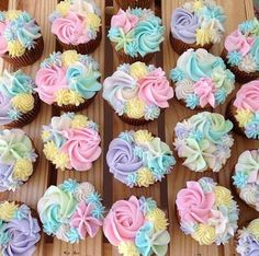 the prettiest cupcakes ever