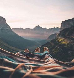 Just a blanket and good company / Alexis Kisgen / via UNILAD Adventure Say Yes To Adventure