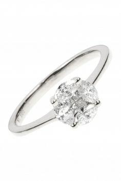 white gold #diamond #ring I designed for NEW ONE I NEWONE-SHOP.COM