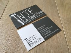 187 best construction business cards images on pinterest new branding for a local construction company love how their business cards turned out reheart Choice Image