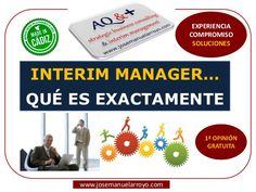 Interim Manager. Gerencias Temporales. Presentación de Servicios Profesionales.