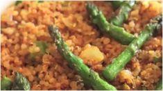 The Quinoa Asparagus How To Cook Kale, Diabetic Friendly, Base Foods, Plant Based Recipes, Quinoa, Asparagus, Green Beans, Diabetes, Keto Recipes