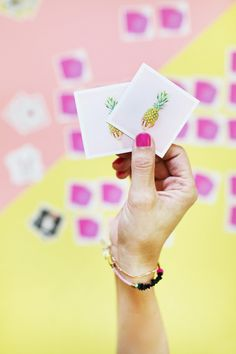 DIY Instagram Memory Game - print your own Instagram photos with @socialps!