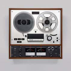 the reel to reel tape recorder.  I got one for Christmas when I was 16.