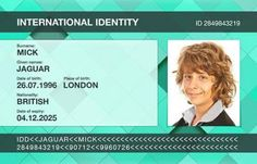 Official Store -Fake ID Cards. Buy fake ids cards including fake driving licence, national identity cards, proof of age and other fake id email:EXPRESSDOCUMENTS 7405 Date Of Expiry, Fake Identity, Id Card Design, Powerpoint Background Design, Real Id, Id Card Template, Legal Forms, Certificates Online, Divorce Papers