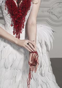 Items similar to Haute Gothic Wedding Gown ~ Feathers Overbust Corset ~ Bloody Swan Dress Vampire Wedding Ball Masquerade Costume ~ Halloween Outfit Corsets on Etsy Halloween Outfits, Costume Halloween, Vampire Wedding, Gothic Wedding, Masquerade Costumes, Masquerade Ball, Corset Costumes, Masquerade Outfit, Costume Dress
