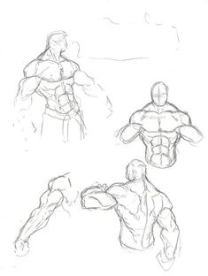 Anatomy Drawing Male muskle sketches by Anny-D - Male Figure Drawing, Body Reference Drawing, Guy Drawing, Drawing Poses, Art Reference Poses, Drawing Sketches, Art Drawings, Drawing People, Drawing Tips
