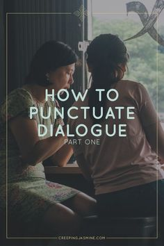 How to Punctuate Dialogue (#GrammarForGremlinsSeries)   If you've ever struggled to properly write your characters' speech, this article will help. Pin these grammar tips for later!