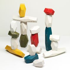 Modern Children's Toys - Balancing Blocks By Fort Standard | Unison