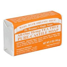Dr. Bronner's Magic Soaps Pure-Castile Soap, All-One Hemp Tea Tree, 5-Ounce Bars (Pack of 6)  for more details visit :http://beauty.megaluxmart.com/