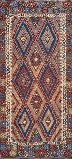 Matt Camron Rugs & Tapestries Antique Kilim Rug