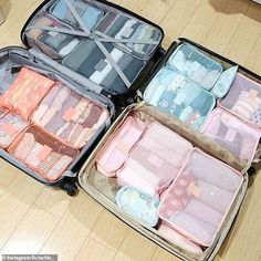 Fans of KonMari: Mothers from Down Under have taken on Marie's mission with care, deciding. packing Australia's Marie Kondo expert reveals her top KonMari tips Suitcase Packing Tips, Carry On Packing, Packing Tips For Travel, Travel Essentials, Travel Ideas, Carry On Bag Essentials, Packing Hacks, Europe Packing, Traveling Europe