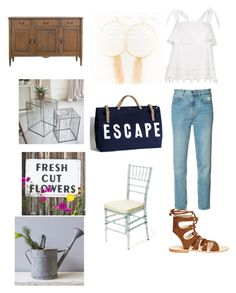 """Set 1...May 6th."" by liz957 on Polyvore featuring M.i.h Jeans, River Island and Cornetti"