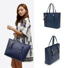 Korea Women's Design Bag Fashion Natural Travel Business School Handbag Gf4025