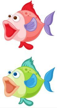 Colorful fish (50 pieces)