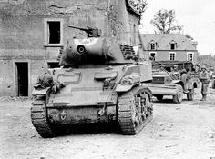 75-mm M8 Howitzer Motor Carriage US Army. France 1944