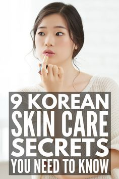 9 Korean Skincare Routine Tips | If you want flawless skin, these Korean skincare secrets will teach you which products to invest in (hello, Soko Glam!), a great step by step night routine, and the beauty secrets you should make time for in the mornings to combat oily and/or dry skin, tips for sensitive and acne prone skin, and anti-aging hacks to giving you natural skin that glows. #korenskincare #koreanskincareroutine #koreanskincaresecrets #MorningBeautyRoutine Anti Aging Skin Care, Natural Skin Care, Anti Aging Tips, Natural Beauty, Diy Beauty Hacks, Diy Beauty Secrets, Beauty Hacks Skincare, Skincare Dupes, Skin Secrets