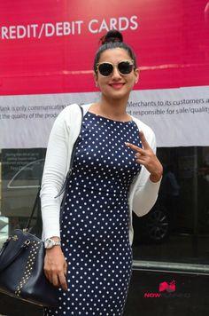 Gauhar Khan and Bond Girl Caterina Murino snapped in Bandra