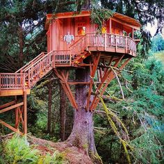 The Neskowin Treehouse by @nelsontreehouse #treehouseclub
